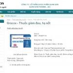 Thiết kế website Công ty Dược phẩm Quan Sơn