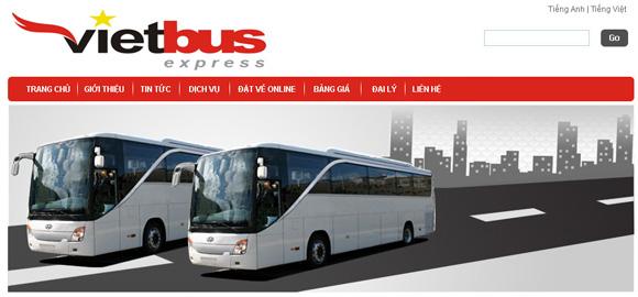Web công ty Vietbus