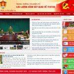 Thiết kế web tổng cục cảnh sát quản lý hành chính về ttatxh