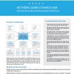 Thiết kế catalog phần mềm quản lý khách sạn