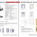 Catalog cơ điện, tự động hóa HV