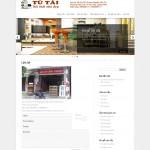 Thiết kế web sàn gỗ, cửa cuốn, cửa nhôm, cầu thang Tú tài