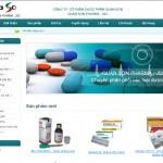 Thiết kế website Công ty CP Dược phẩm Quan Sơn