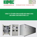 Thiết kế catalog tủ điện, thang cáp, máng cáp BMC