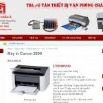 Web máy in, đổ mực thiết bị văn phòng Châu Á
