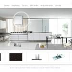 Thiết kế website bếp từ, chậu rửa bát, sen vòi Kucy