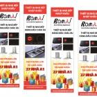 Thiết kế và in băng rôn quảng cáo thiết bị nhà bếp