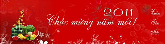 Banner flash Chúc mừng năm mới