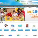 thiết kế web shop bán hàng trẻ em trang chủ