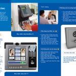 Thiết kế catalog máy chấm công