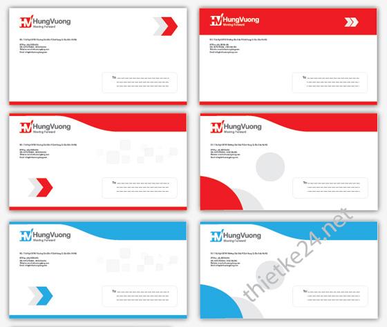 thiết kế bì thư, phong bì, bao thư
