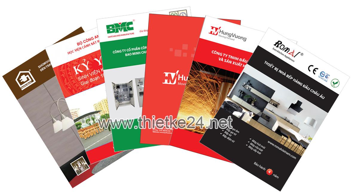 thiết kế brochure, thiết kế tờ gấp